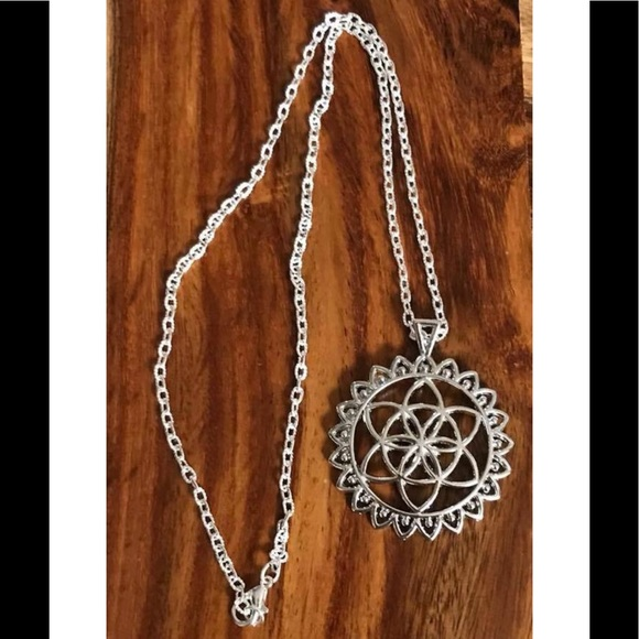 Jewelry - Brand New mandala necklace